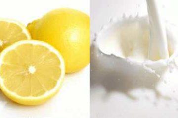 Cách làm trắng da toàn thân bằng Chanh và Sữa